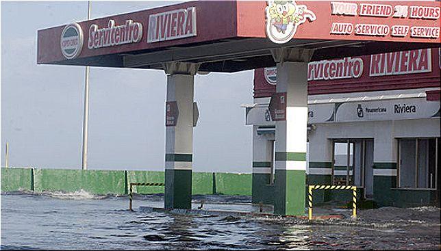 rceni - Inundaciones en Cuba -por -marejadas- y -fuertes -vientos-