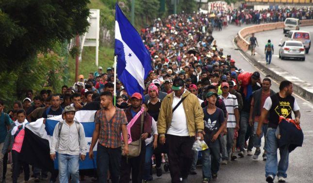 rceni - Nueva mega caravana - se- estaría- gestando- y -saldría- de-Honduras-