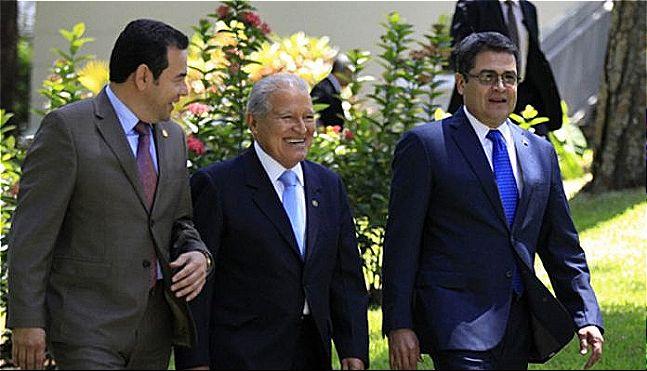 rceni - Puesto fronterizo el Poy -presidentes -del- triangulo- norte -lo -adecuan -