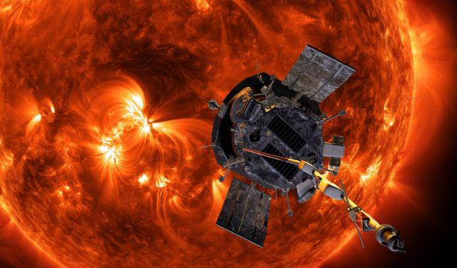 rceni - Sonda solar Parker -envía -la -primera -imagen- captada -desde- la- atmósfera -del- Sol-