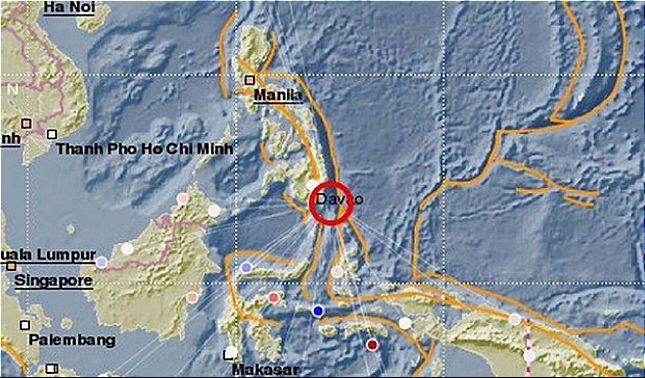 rceni - Terremoto en Filipinas- fue -sacudida- con -una- fuerte -intensidad- de- 6.9 -
