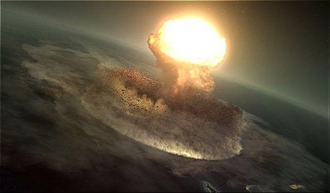 rceni - Asteroide de Chicxulub -extinguió- los -dinosaurios- creo- tsunami- de -1.600- metros-