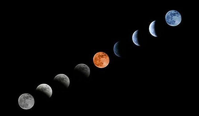 rceni - Eclipse lunar total -será- visible- en- toda -Centroamérica -