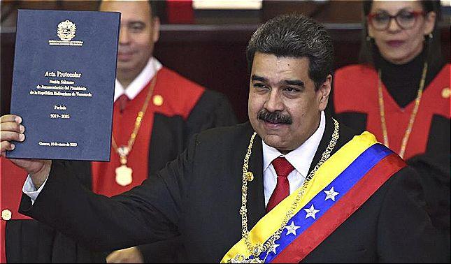 rceni - Juramentación de Maduro - las -direrentes -reaciones- en- el -mundo -