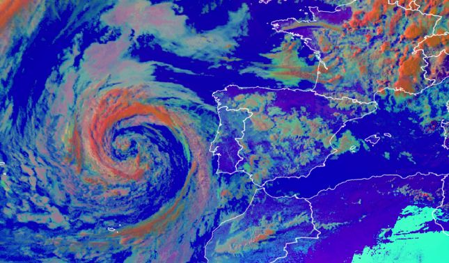 rceni - Anomalía climática -muy- fuerte -asedia- a -buena- parte -de- Europa -