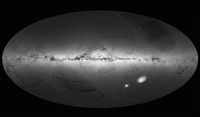 rceni - Galaxia Vía Láctea -crean -primer- mapa- en -3D- y -revela -su -verdadera -forma -