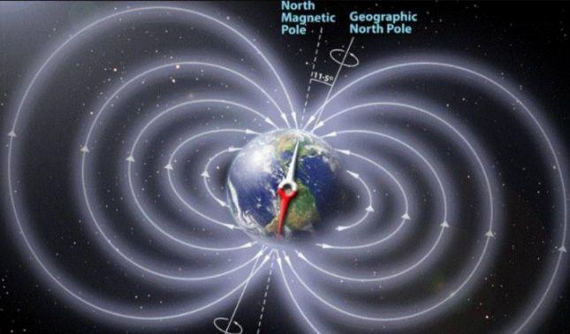 rceni - Polo norte magnético -se- está- desplazando -hacia- Rusia- a -gran- velocidad-