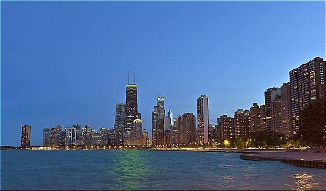 rceni - Chicago se hunde -ya- está -10 -centímetros- más- bajo -