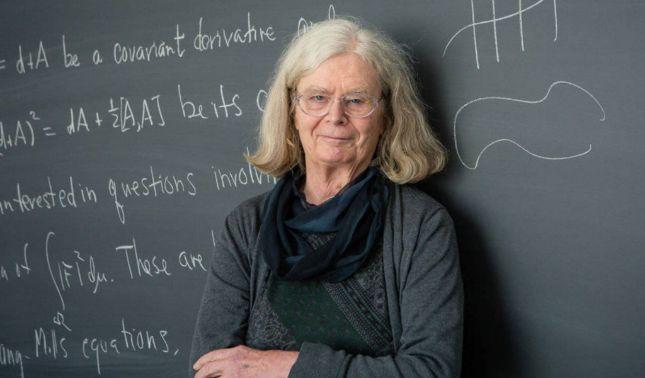 rceni - Karen Uhlenbeck -Por -1ra -vez -una -mujer- ganó -el -Nobel- de -matemáticas-