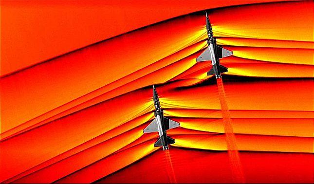 rceni - NASA capta -por -1ra -vez -ondas- de -choque -de -aviones- en- vuelo