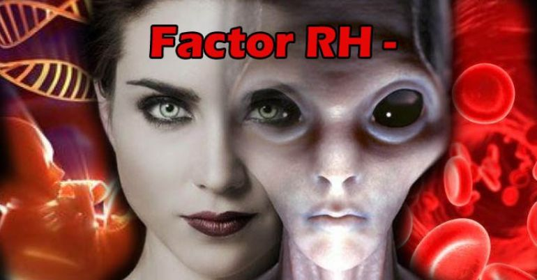 Teoría propone que la sangre del tipo Rh negativo es de origen extraterrestre