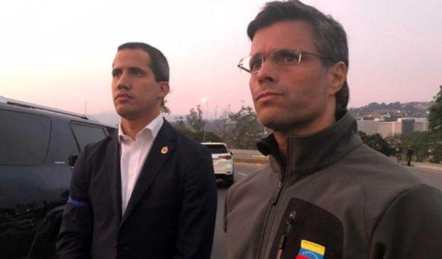 rceni - Guaidó y Leopoldo López -llaman -a- al -pueblo- a- las -calles- en-Venezuela -