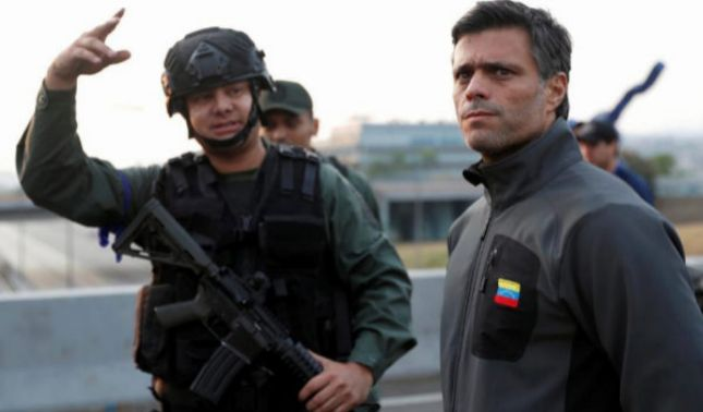 rceni - Operación Libertad -inicio- en- Vzla -con -alzamiento- militar- contra -Maduro-