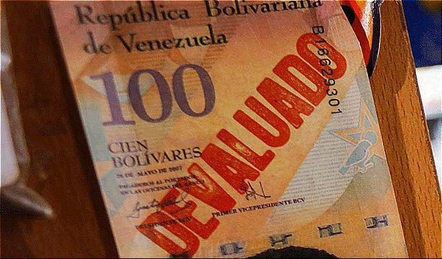 rceni - Venezuela vuelve a devaluar- el -bolívar- a -través- del -DICOM -