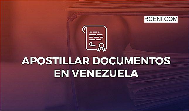 rceni - Apostillar en venezuela -así -funciona- el -nuevo- sistema -