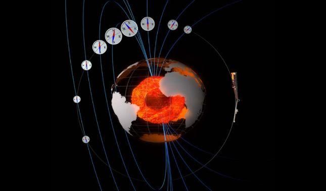 rceni - polo norte magnético se mueve -hacia- Rusia -Qué -ocurre-
