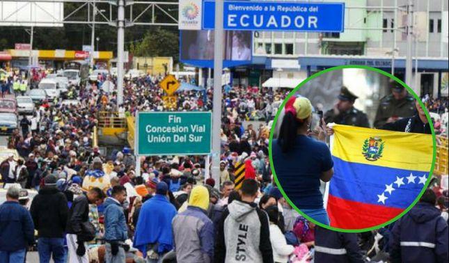 rceni - Visa humanitaria para venezolanos -propone -Lenin -Moreno- en -Ecuador-