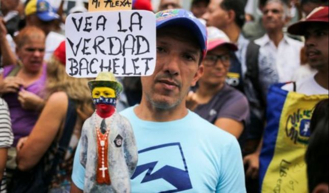 rceni - Que vio Bachelet - en -Venezuela -de- la- profunda- crisis -humanitaria-