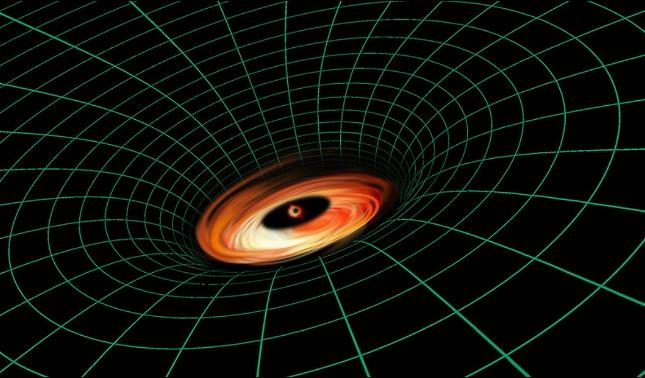 rceni - Agujero negro supermasivo -el -Hubble -capta- algo- que- no- debira- estar- alli-