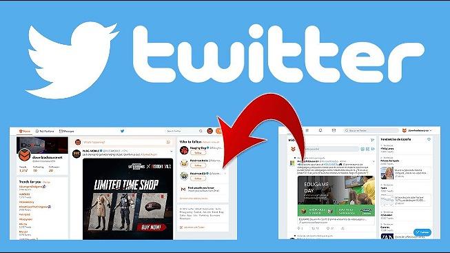 rceni - Antiguo interfaz de Twitter -quieres-volver -Sigue- estas -instrucciones -