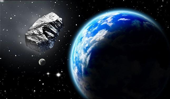 rceni - Asteroide FT3 - Nasa- sigue -su- curso- porque- podría -chocar- contra -la -Tierra-
