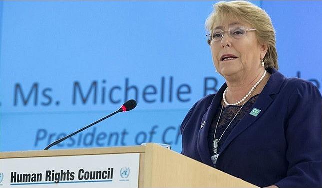 rceni - Informe de Bachelet -registra- torturas- detenciones -arbitrarias- y -represión-