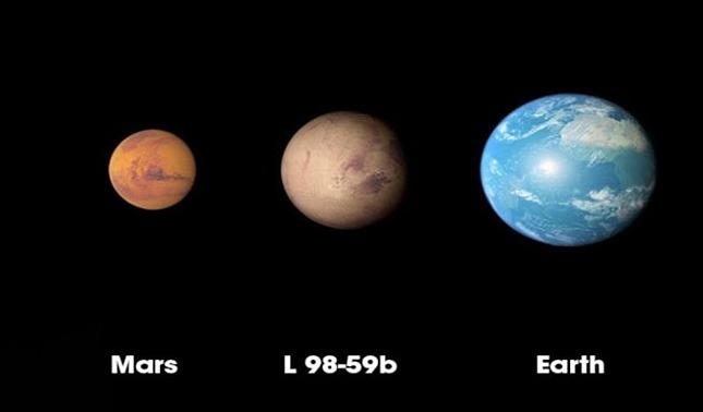 rceni - NASA descubre un nuevo mundo - lo- ha- llamado- L 98-59b -