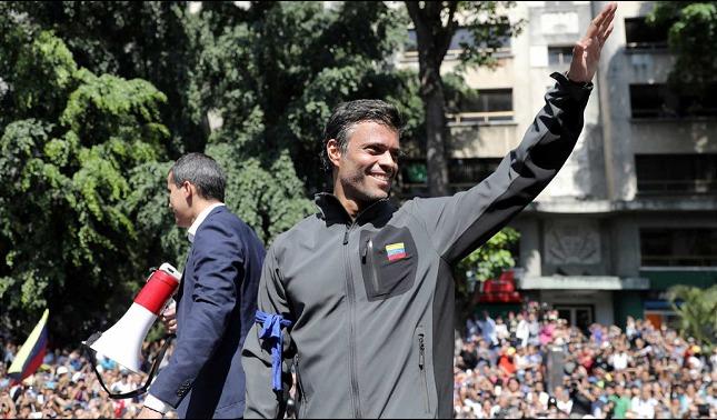 rceni - Sin cuerdo político - la- fuerza -será -necesaria- así- lo -manifestó -Lopoldo-Lopez-