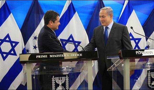 rceni -Sede diplomática en Jerusalén -abrirá- Honduras -el- 1 -de- septiembre