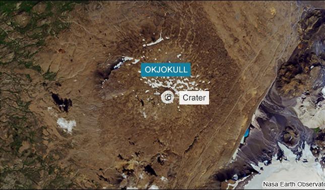 rceni - Glaciar Okjokull - Islandia- conmemora -su- desaparicion- por- cambio -climatico-