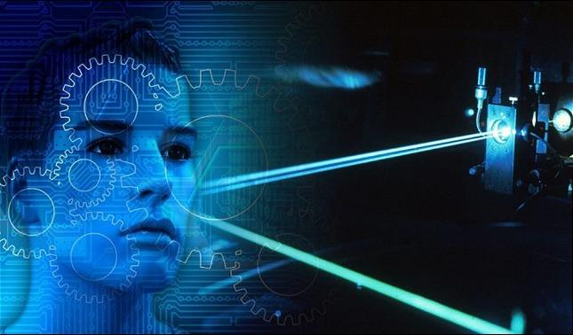 rceni - Nuevo láser - capaz -de -transmitir -mensajes -directo-a- las -personas -