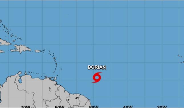 rceni - Tormenta tropical Dorian - va -hacia- Puerto -Rico- y -Republica -Dominicana -