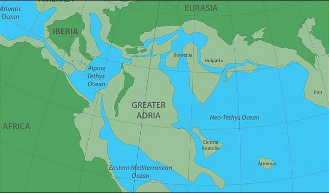 rceni - Gran Adria - el -continente -oculto -debajo- de- Europa- es- descubierto-