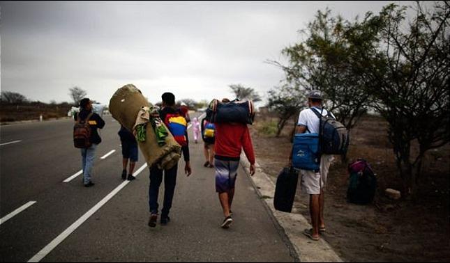 rceni - Migrantes venezolanos -en -agosto -108.340 -se -fueron -del -país-