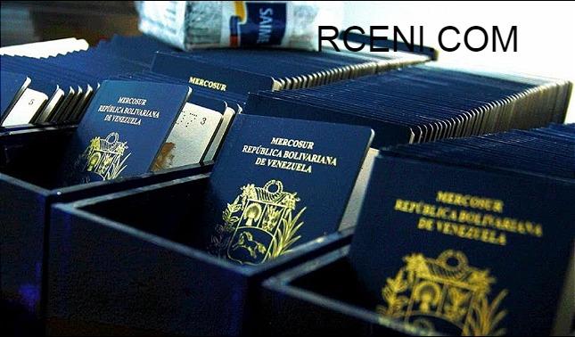 rceni - Segunda prórroga de pasaporte -venezolano- activo- el- SAIME-