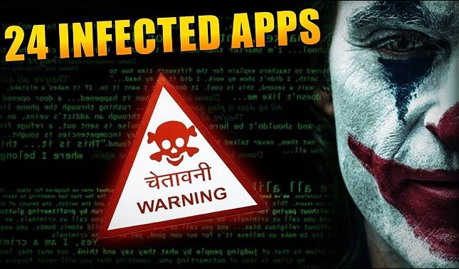 rceni - Virus Joker - es -detectado- ha -sido -descargado -500.000 -veces- y- roba- dinero-