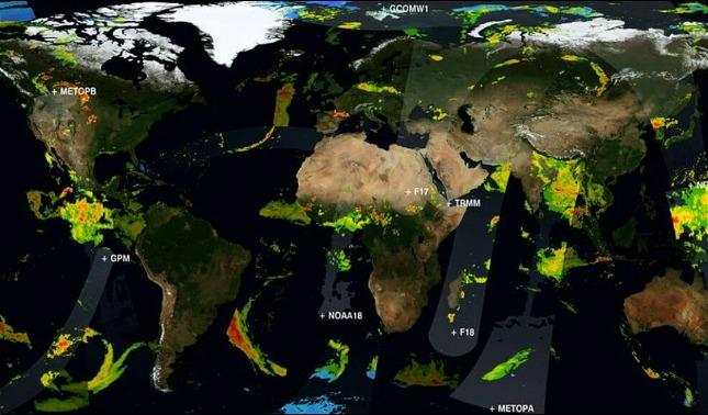 rceni - Lluvia -NASA- reúne -20 -años- de -datos -en -un -solo- video-