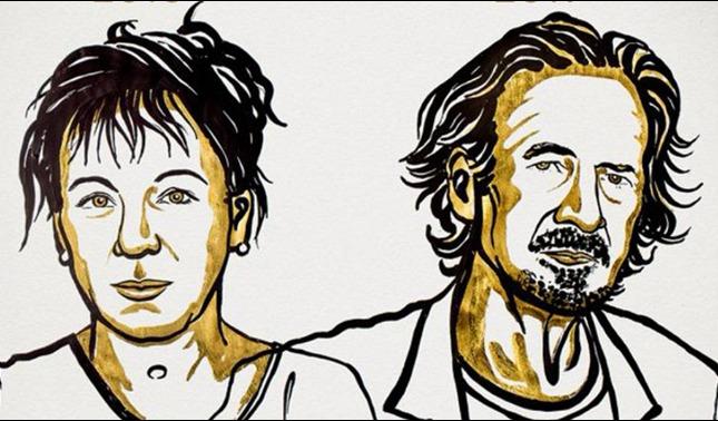 rceni - Nobel de literatura -2018- y -2019- para- Olga -Tokarczuk- y -Peter-Handke-
