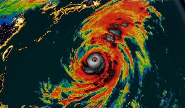 rceni - Supertifón Hagibis - con- vientos- de- más -de -240 -Kph -está -por- llegar -a -Japón-