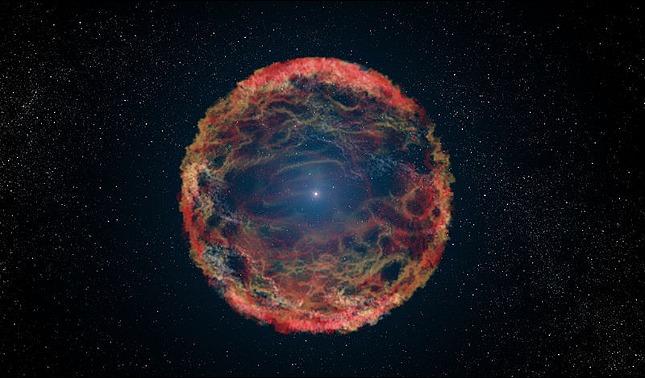 rceni - Explosión termonuclear masiva -es -captada -por -la -NASA -