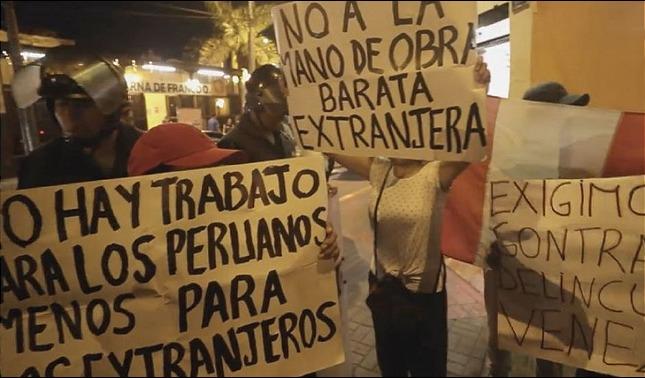 rceni - Ola de xenofobia - amenaza -al -éxodo -venezolano -en -Suramérica-