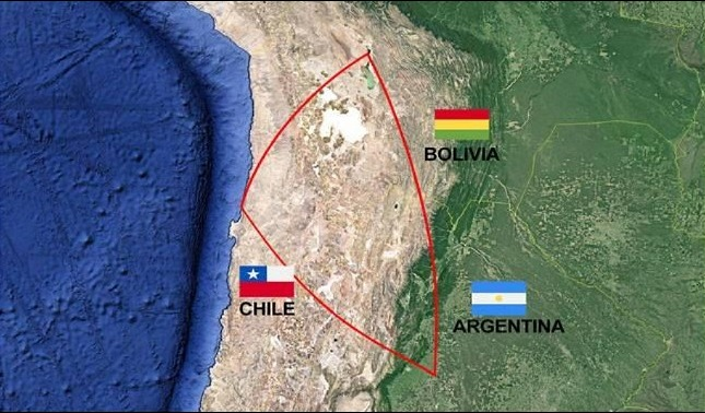 rceni - Triángulo del litio -en -Sudamérica - su- importancia- geopolítica -