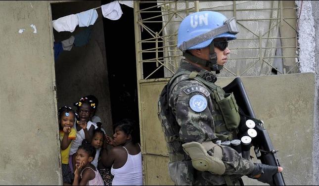rceni - Cascos azules -en -Haití- abandonaron- a -niñas- en -la -miseria- y -embarazadas-