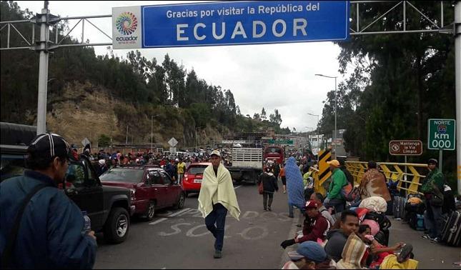 rceni - Gobierno de Ecuador -entrego- 25.780 -visas- a- favor- de- los -venezolanos -