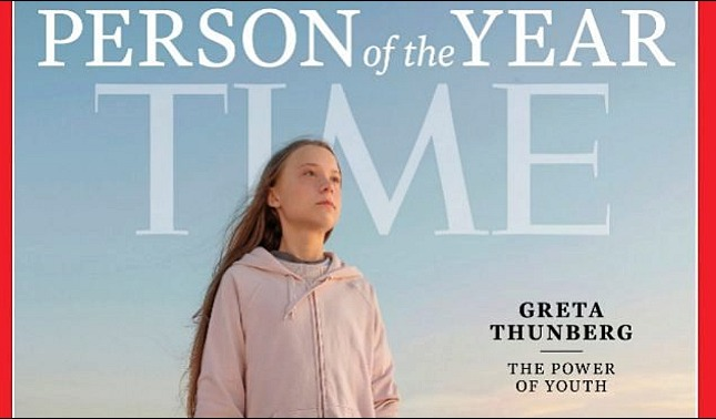 rceni - Persona del año 2019 - para- la -revista -Time -Greta -Thunberg-