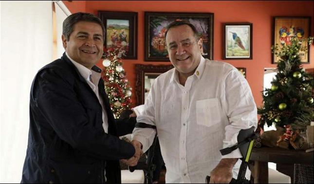 rceni - Giammattei y Hernández - se -reunieron- para- reafirmar- integracion -aduanera-