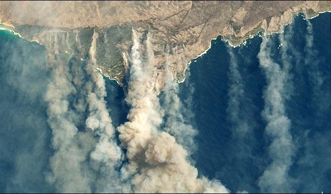 rceni - Humo de los incendios- de -Australia- dara- la- vuelta- al -mundo-