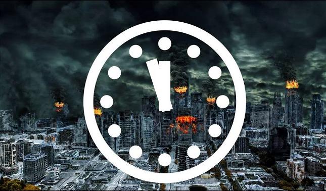 rceni - Reloj del juicio final -avanza- 20 -segundos- y- está -más- cerca- de- la- medianoche-