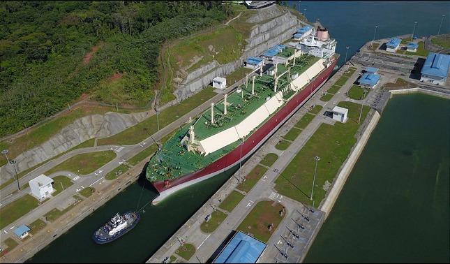 rceni - Uso de agua dulce -cobrara -el -canal -de- Panama- por- grave- sequia-