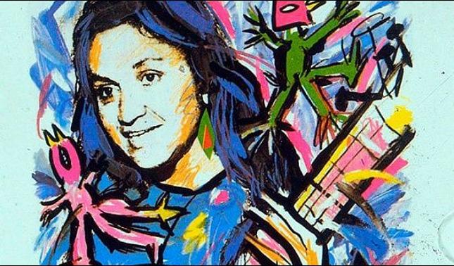 rceni - Violeta Parra - su- vida- alientan- los -versos -de- A -lo- humano- y- a- lo- divino-